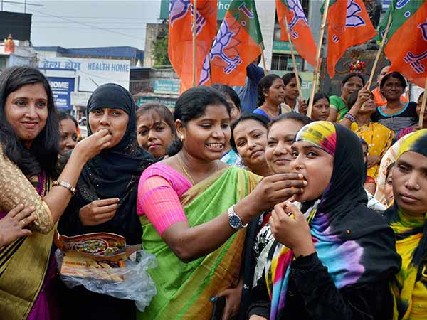 Muslims and Dalits get angry over BJP.? Look at the foreground conditions