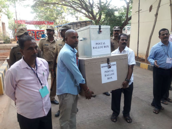 puducherry counting begins amidst heavy police security