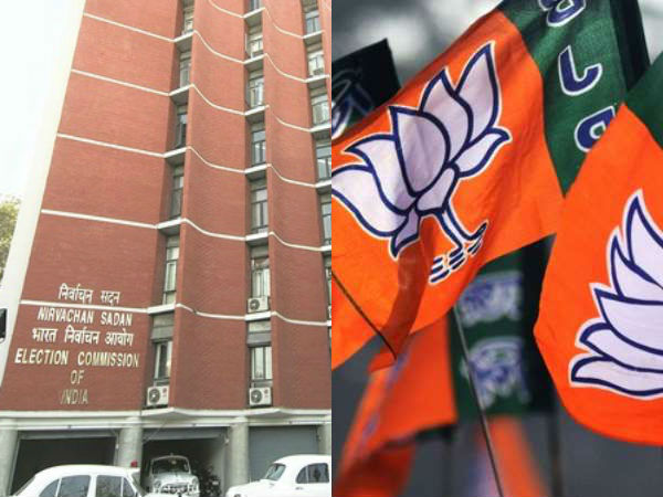 The BJP wins in 303 constituencies, Election Commission Announcement
