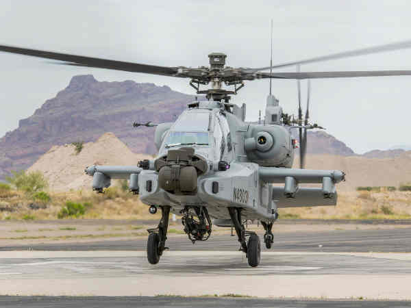Apache guardian helicopter produced in the United States., Handed over to India