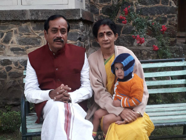 H Raja rest in Kodaikanal with family and his Grand daughter Jayalalitha