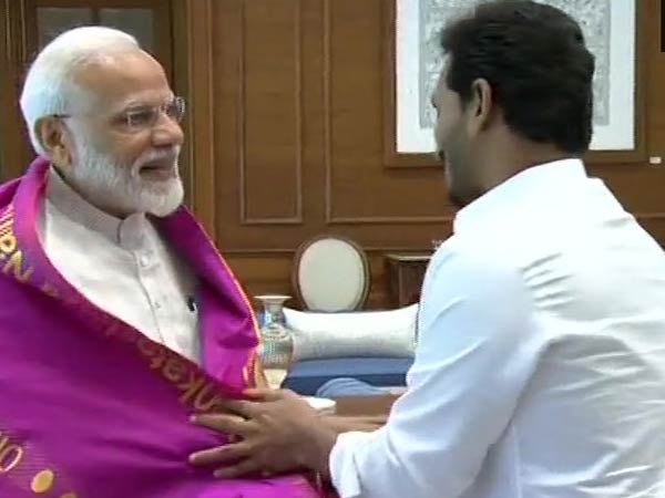 JaganMohan Reddy is going to meet PM Narendra Modi today