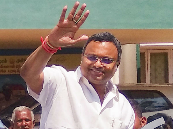 Supreme Court allows Karti Chidambaram to travel abroad with 10 crores deposit