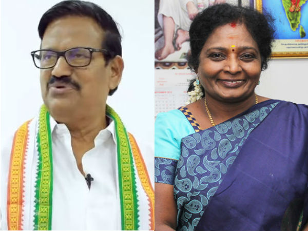 TN Congress Leader KS Azhagiri answer to Tamilisai Soundarajan