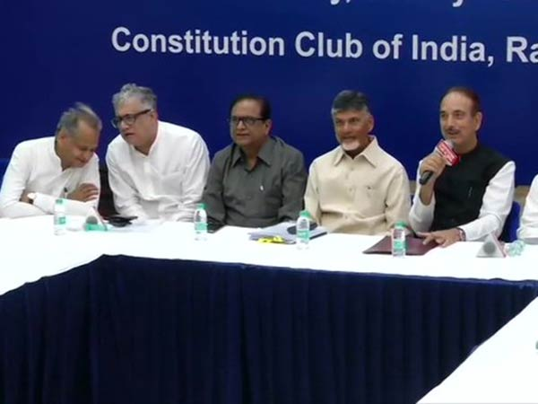 பரபரக்கும் டெல்லி.. ஒன்றுகூடிய 21 எதிர்கட்சி தலைவர்கள்... கனிமொழியும் பங்கேற்பு