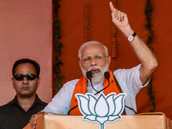 Modi again speaks on Caste