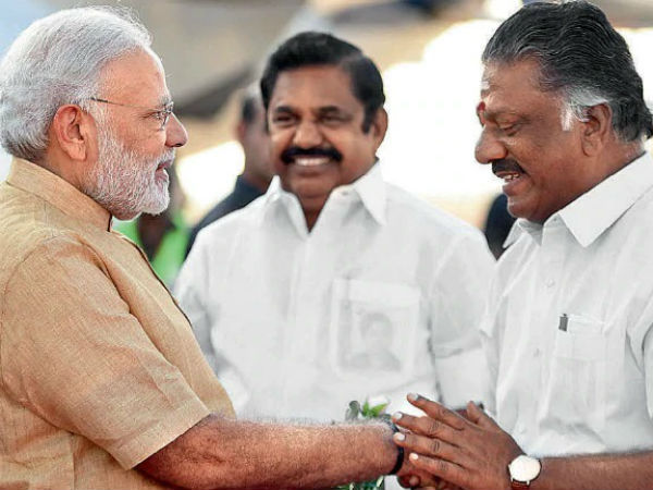 TN CM and Deputy CM participated in PM Modis meeting with NDA allies