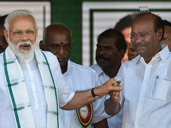 The unprecedented victory, Wishes To Narendra Modi on behalf of PMK Says Ramadoss