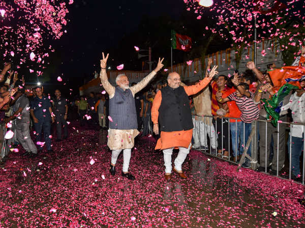 pm modis bjp get 48 years historical victory after indira gandhi cross 300 seats since 1971