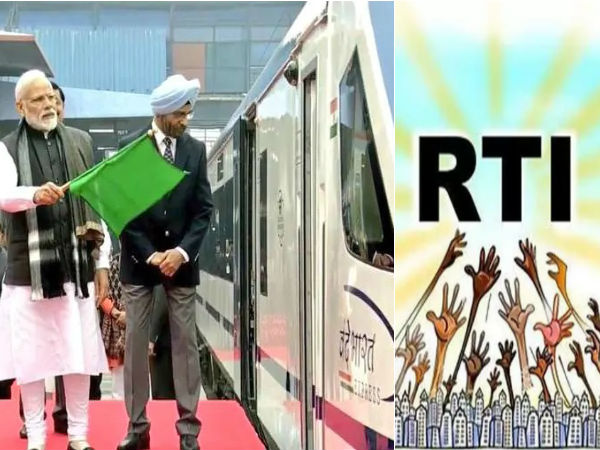Rs.52.18 lakh spent for Vande Bharat express train inaugural function.. RTI shocking information
