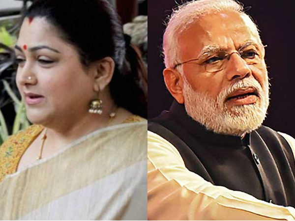 Kushboo slams PM Modi who paid homage to former PM Rajiv Gandhi on his death anniversary