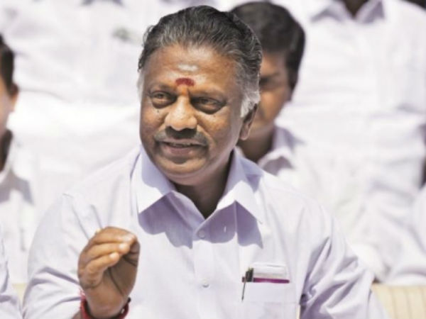 Minorities live safely in tamilnadu : says o paneerselvam