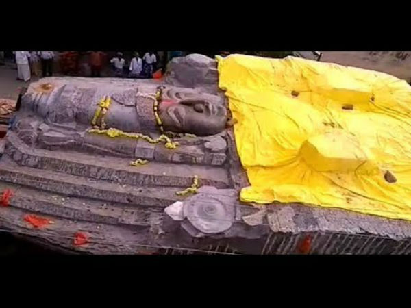 Problem of transorting Kothandaramar Statue near Hosur