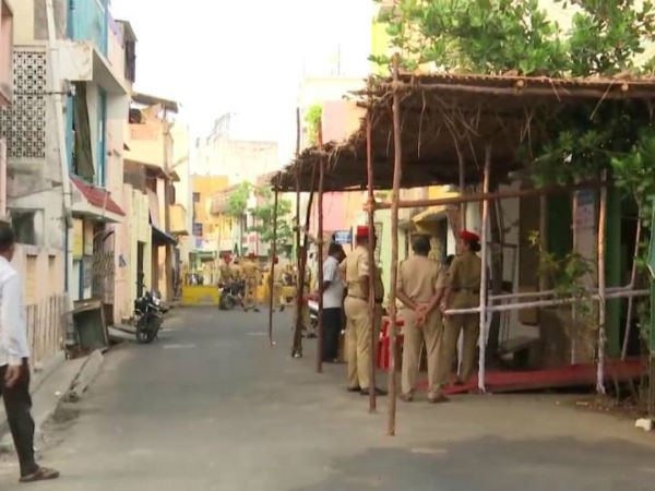 puducherry: repolling going on smoothly