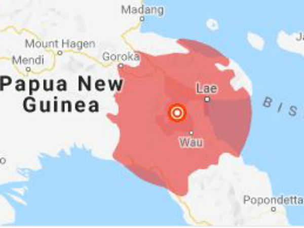 Papua New Guinea hits by 7 Richter earthquake: No Tsunami warning