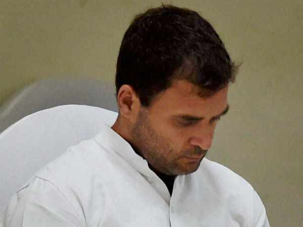 Rahul may resign as Cong. chief Post?
