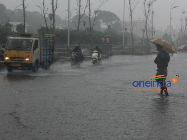 2 days before has started Southwest Monsoon rain in Andaman