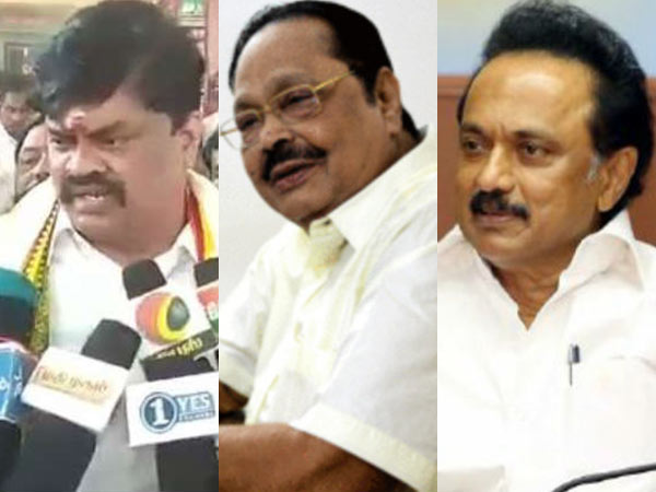 Minister Rajendra Balaji says MK Stalin Joins in Congress