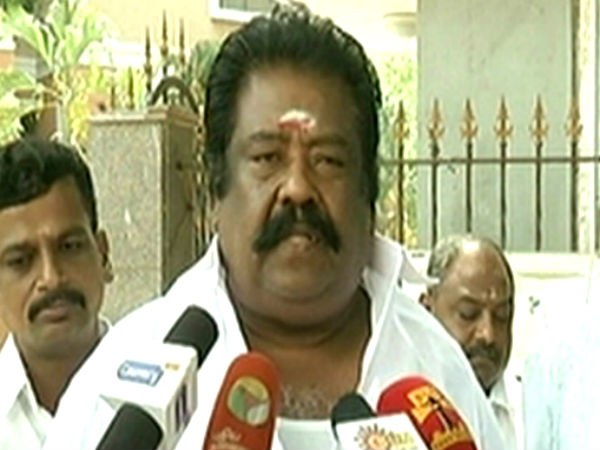 AIADMK MLAs sadden about BJP controls our party, says Rathinasabapathi