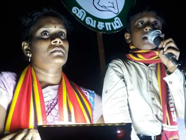 Campaign for Naam Tamilar Party Candidate Revathi in Thiruparankundram