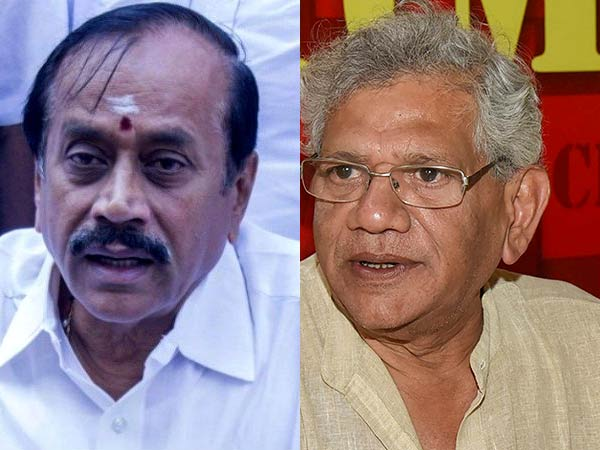 H Raja condemns Sitaram yechurys comments on hindus
