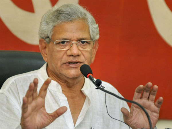 Trinamool congress workers involving violence and rigging in Kolkatta: Yechury