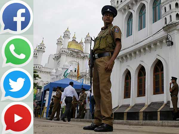 Sudden confrontation between two groups..Social websites blocked again in srilanka