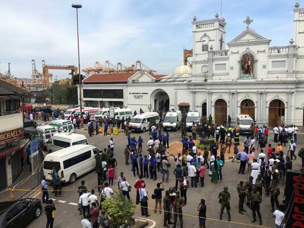 Sri Lankan government has assured foreign involvement in the blast