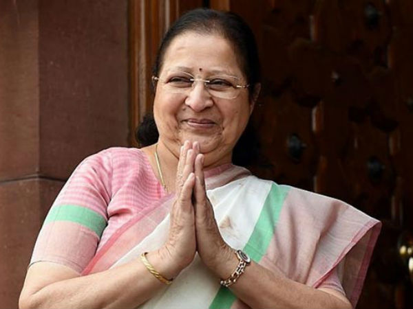 புதிய எம்.பி.க்களுக்கு 5 ஸ்டார் ஓட்டல் கிடையாது... சுமித்ரா மகாஜன் எடுத்த அதிரடி முடிவு!!