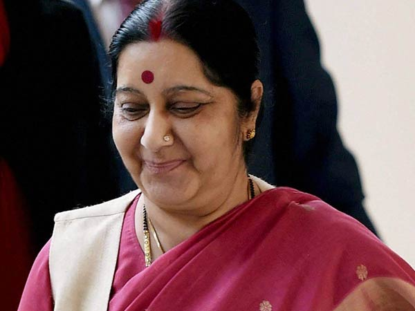 Cabinet Minister responsible for 6 women in Modis regime.. Sushma swaraj is proud