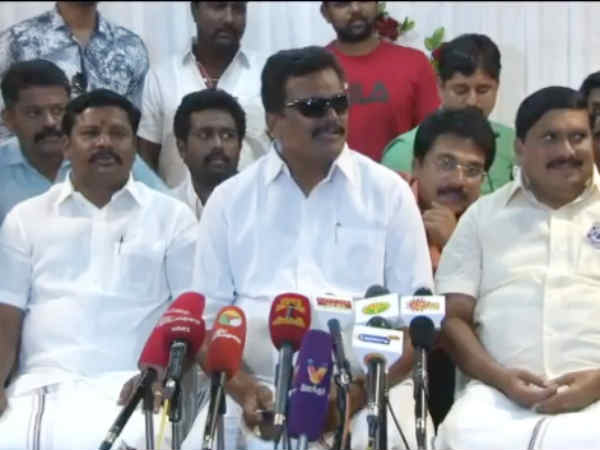 OPS will see his end in political career in this election, says Thanga Tamilselvan