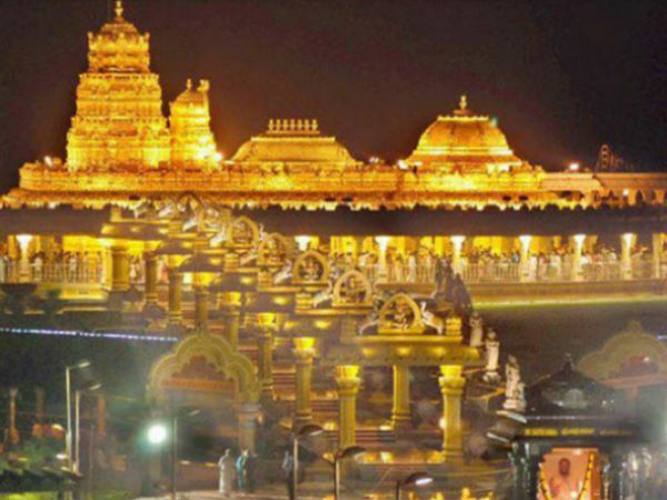 The new bus terminal Build Worth of Rs 100 crore in Tirupati