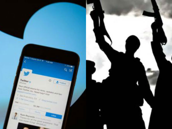 1.6 lakhs accounts removed for encourages terrorism.. Twitter information