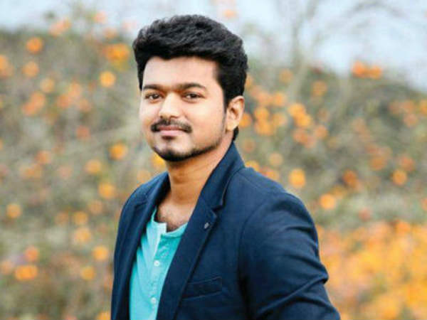 Vijay is elated over his 64th movie