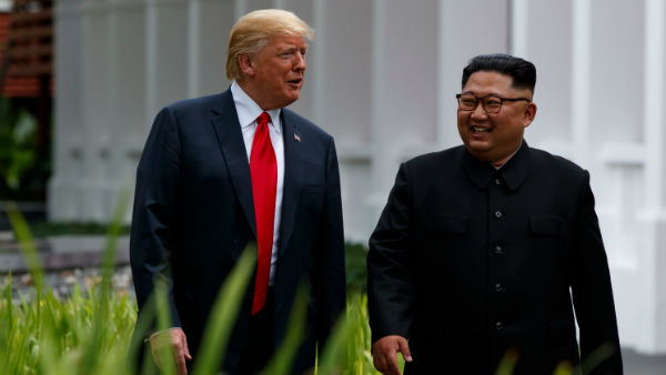 Trump and Kim meets in North Korea border
