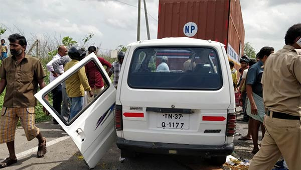 5 dead in a freak accident near Coimbatore