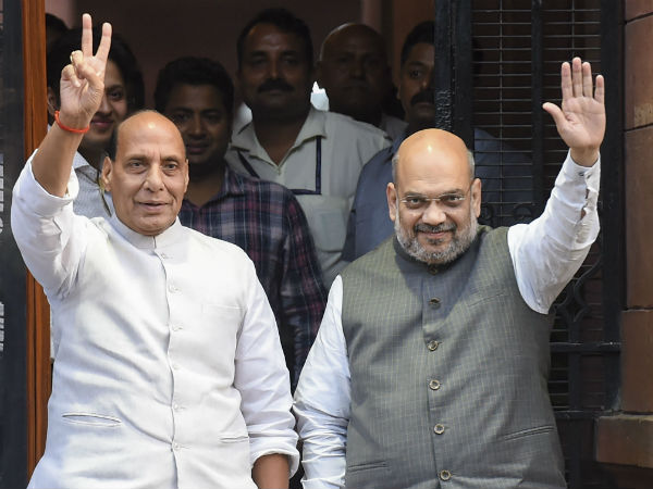 Security level raised to Amit Shah and Rajnath Singh