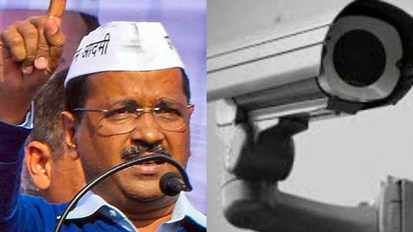 Only 1.14 lakh CCTV cameras in Kejriwal constituency..Fast tasks to fulfill the promise