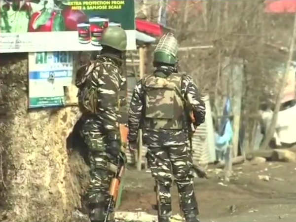 Heavy gunfire in Kashmir, 4 militants killed in action