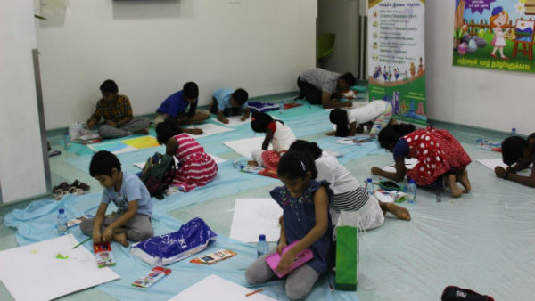 Drawing competition in Bahrain for world environmental day