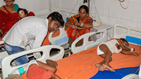 In Bihar, 57 people died due to brain fever.. 49 children also death