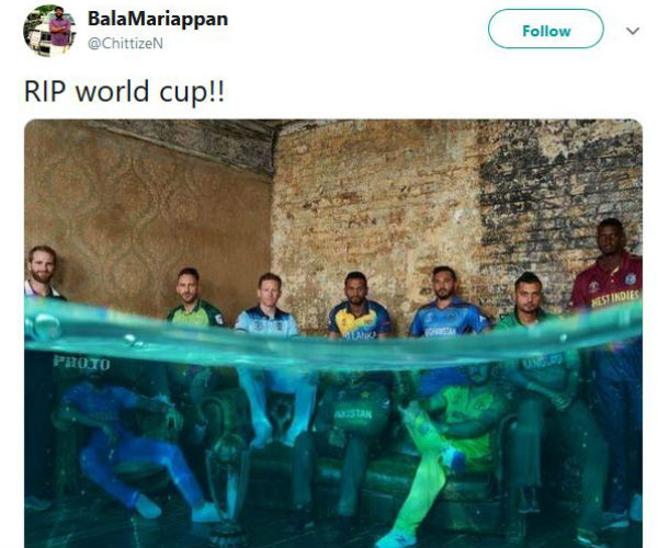 Rain stops cricekt world cup, picture goes viral