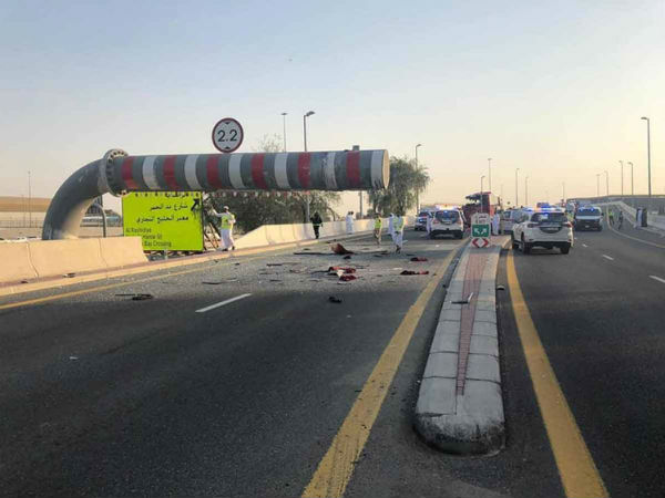 10 Indians have passed away in Dubai bus accident