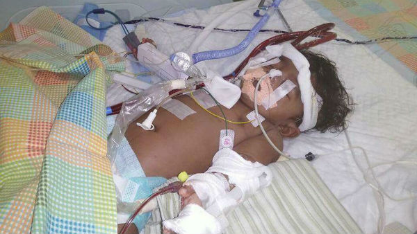 Help this new born baby for heart operation