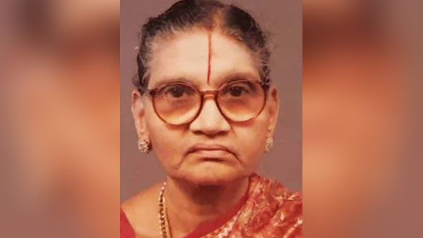 GK Vasans mother Kasturi Moopanar passed away due to ill health .. Funeral tomorrow evening