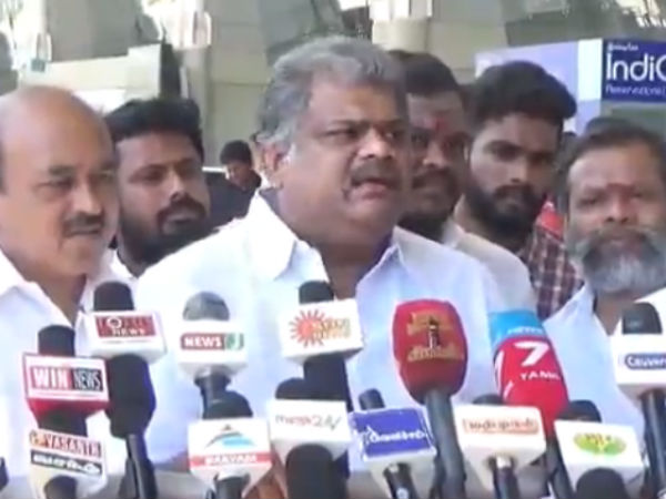 GK Vasan asks opposition parties to accept their defeat