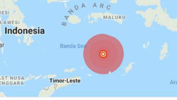 Japan, Indonesia Hit by Earthquake at morning today , no tsunami warning issued