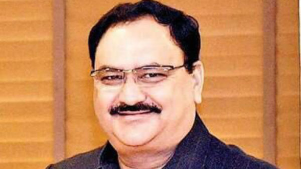 JP Nadda is the new EP of BJP