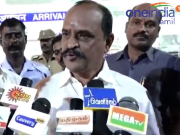 DMK politics with tamil language, Minister Kadambur Raju Criticism