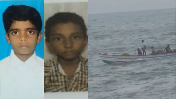 4 students were trapped in Kanyakumari sea water, one died